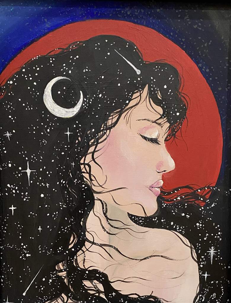 Adrienne Haberl- Red Moon