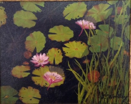 Lily Woolley-Water Lillies II