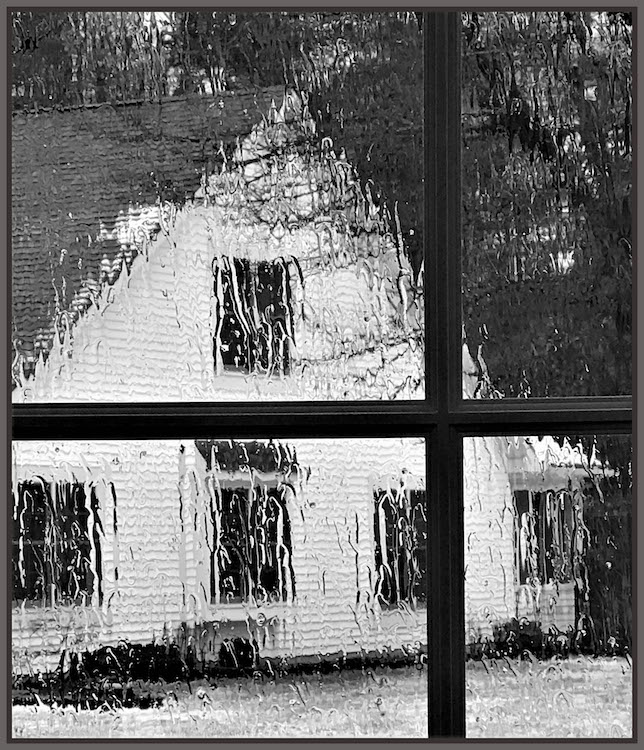 RoseMarie Reitman-Looking Out on a Rainy Day